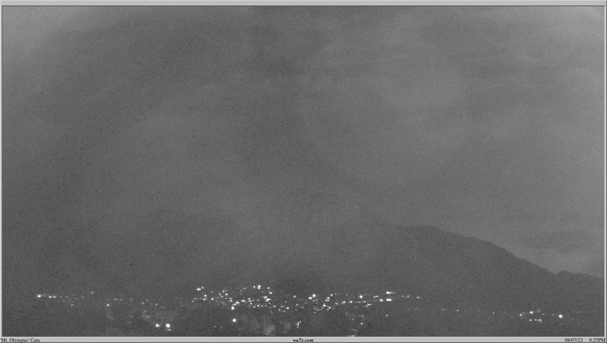 Mt. Olympus as viewed from Millcreek City, UT